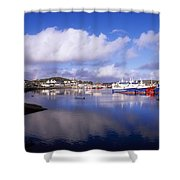 Killybegs, Co Donegal, Ireland Shower Curtain