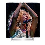 Kimberly Schlapman Shower Curtain