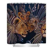 Kindred Lionfish Shower Curtain