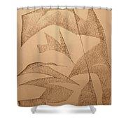 King Shower Curtain