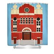 King Edward Street Shul Shower Curtain