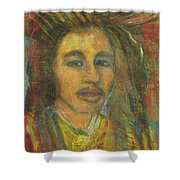 King Gong As A Young Man Shower Curtain