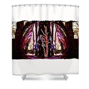 King Hall Shower Curtain