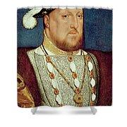King Henry Viii  Shower Curtain