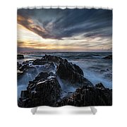 King Island Sunset Shower Curtain