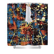 King Lagerfeld Shower Curtain