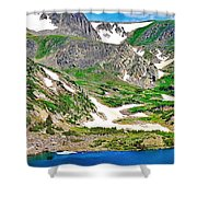 King Lake At Rollins Pass T Shower Curtain