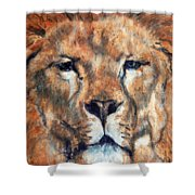 King Lion Shower Curtain