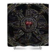 King Of Constellations Shower Curtain