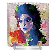 King Of Pop Shower Curtain