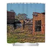 King Of The Rubble Shower Curtain