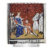 King Philip Iv Of France Shower Curtain