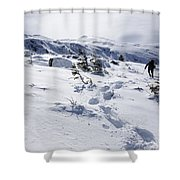 King Ravine - White Mountains New Hampshire Usa Shower Curtain