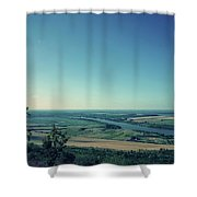 King River Shower Curtain