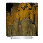 King Tut At The Luxor Hotel Shower Curtain
