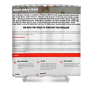 Kingcollisioncenter Infographics Shower Curtain