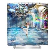 Kingdom Encounter Shower Curtain