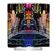 Kingly Venice Reflection Shower Curtain