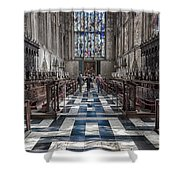 Kings Altar Shower Curtain