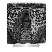 King's Burial Chamber Shower Curtain
