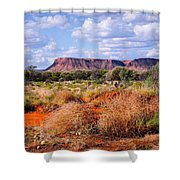 Kings Canyon - Northern Territory, Australia Shower Curtain