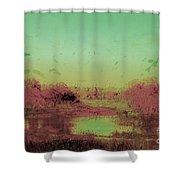 Kings Grant Shower Curtain