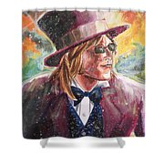 King's Highway Shower Curtain