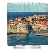 Kings Landing Dubrovnik Croatia - Dwp512798 Shower Curtain