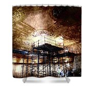 Kings Rolling Towers Shower Curtain