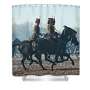 Kings Troop Rha Shower Curtain