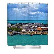 Kings Wharf, Bermuda Shower Curtain