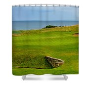 Kingsbarns Golf Links Hole #18 Shower Curtain