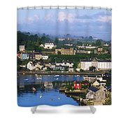 Kinsale, Co Cork, Ireland View Of Boats Shower Curtain