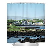 Kinvara Seaside Village Galway Ireland Shower Curtain