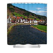 Kinzig River Shower Curtain