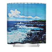 Kipahulu Shower Curtain