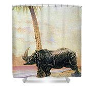 Kipling: Just So Stories Shower Curtain