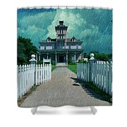 Kirby House Restaurant  Shower Curtain