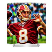 Kirk Cousins Shower Curtain