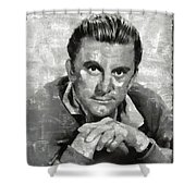 Kirk Douglas Hollywood Actor Shower Curtain