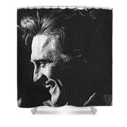 Kirk Douglas Laughing Old Tucson Arizona 1971 Shower Curtain