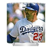 Kirk Gibson, Los Angeles Dodgers Shower Curtain