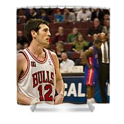 Kirk Hinrich Shower Curtain