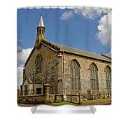 Kirk Of Shotts. North Lanarkshire. Shower Curtain