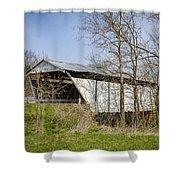 Kirker Covered Bridge  Shower Curtain