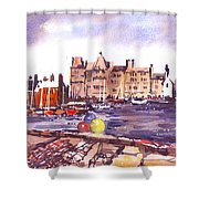 Kirkwall Harbour Shower Curtain