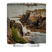 Kisimul Castle Shower Curtain