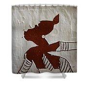 Kiss - Tile Shower Curtain