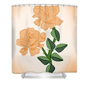 Kiss From A Rose Shower Curtain
