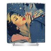 Kiss Goodnight Shower Curtain